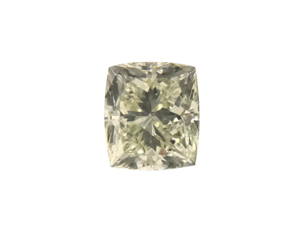 0.58ct綠色彩鑽石