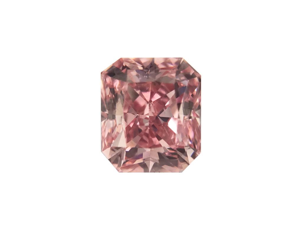0.60ct 粉紅彩鑽石