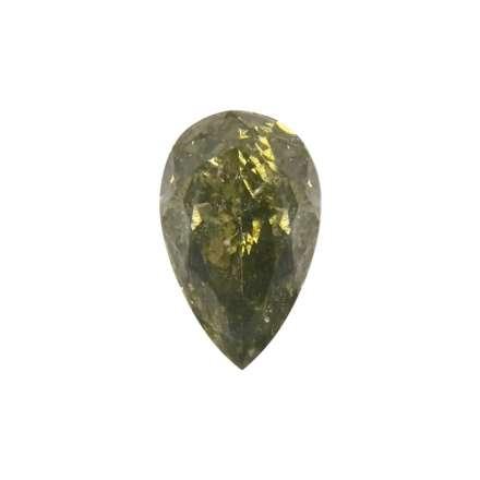 0.62ct綠色彩鑽石