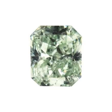 0.64ct綠色彩鑽石