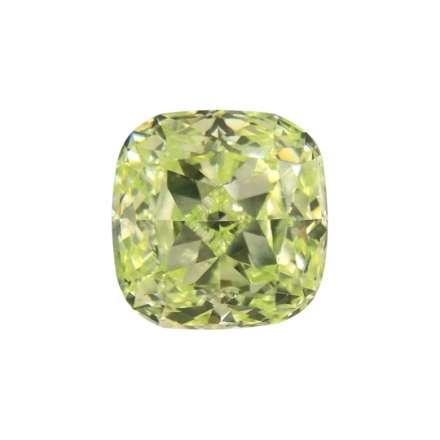 0.76ct綠色彩鑽石