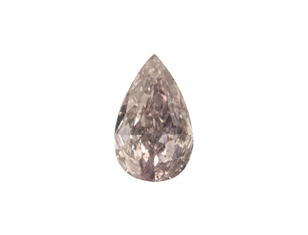 0.77ct粉紅彩鑽石