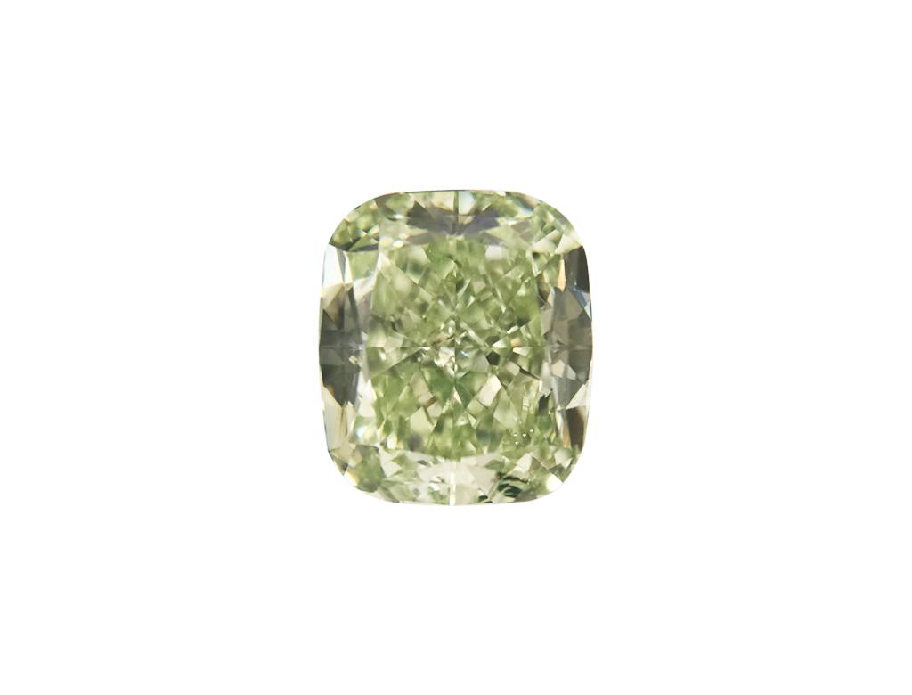 0.77ct綠色彩鑽石
