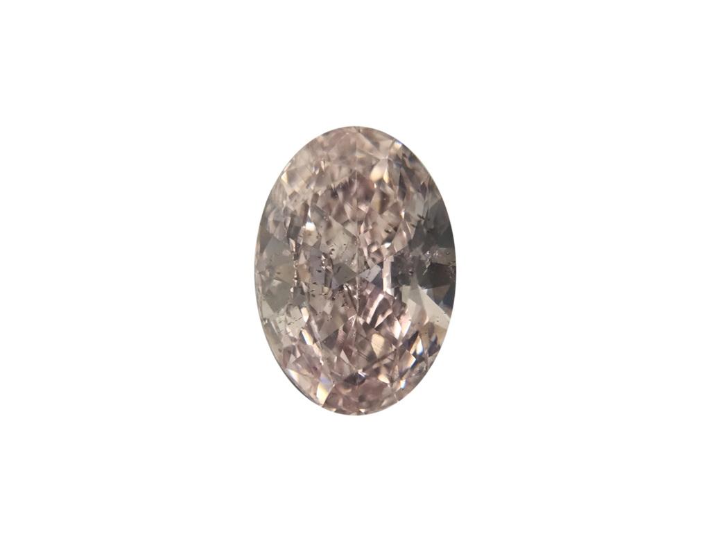 0.79ct粉紅彩鑽石