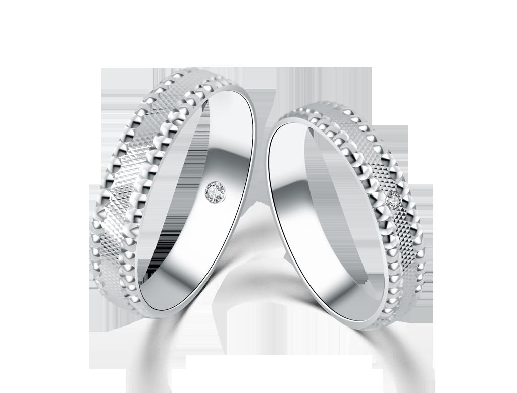 18K德國結婚對戒