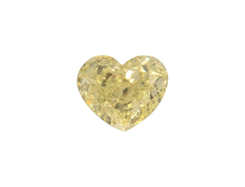 1.00ct黃色彩鑽石
