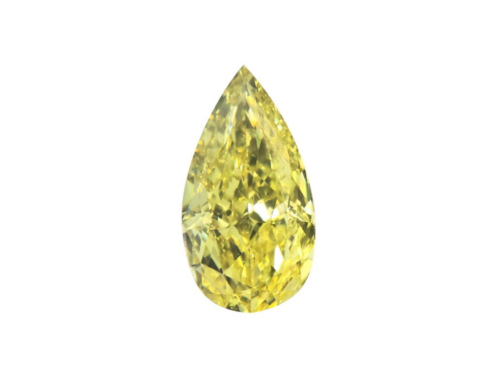 1.03ct黃色彩鑽石