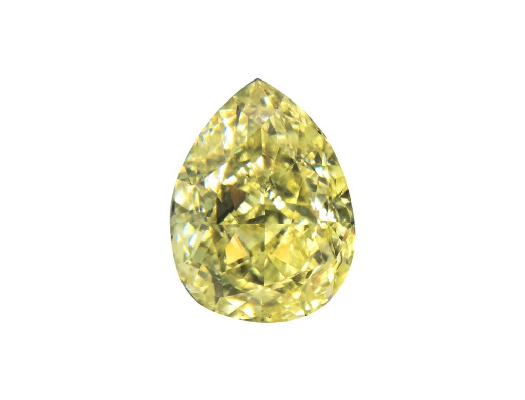 1.10ct黃色彩鑽石