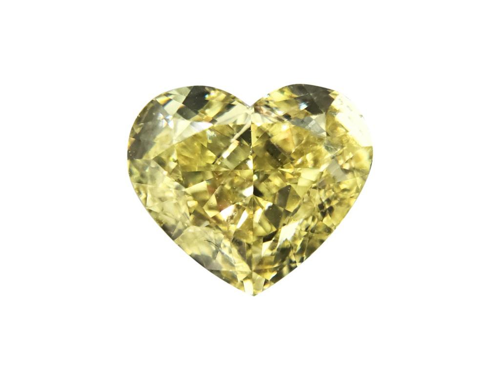 1.17ct黃色彩鑽石