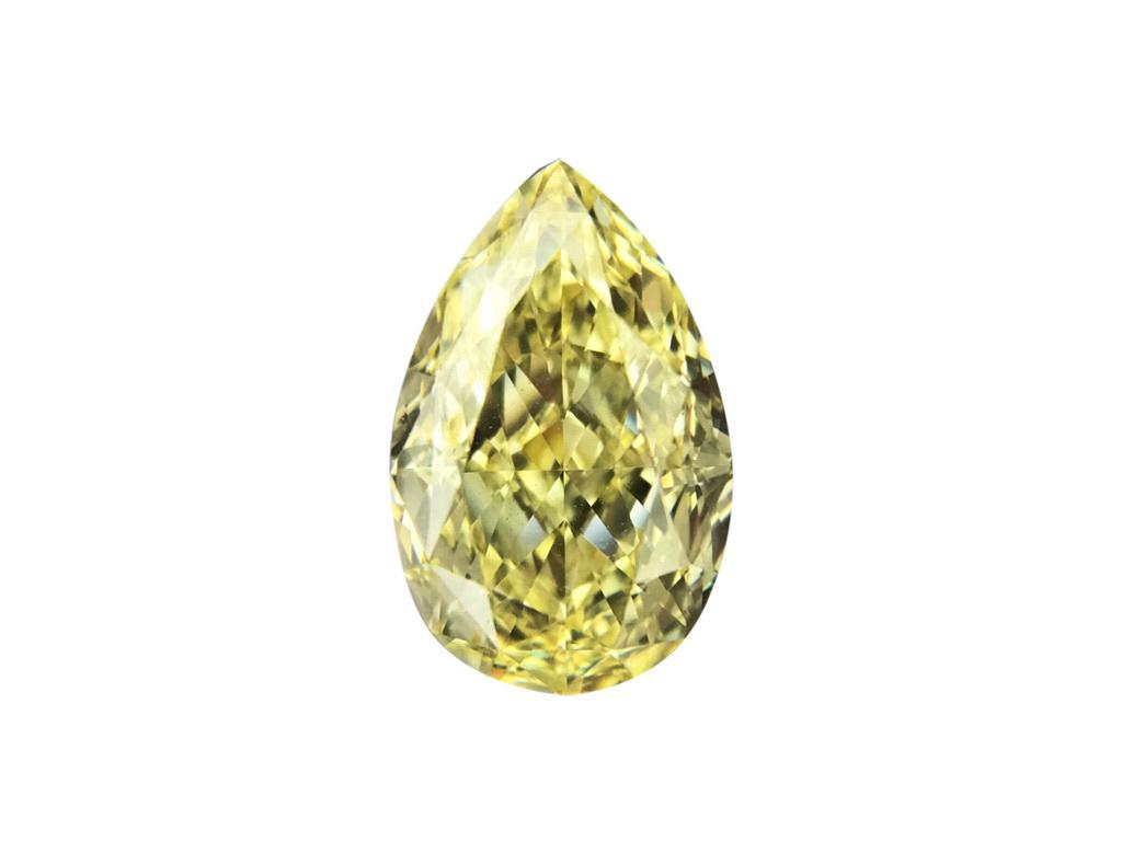 1.20ct黃色彩鑽石