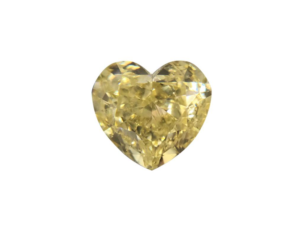 1.22ct黃色彩鑽石
