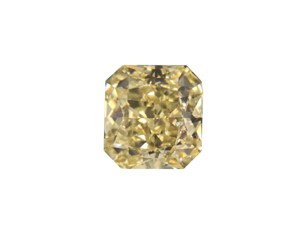 1.24ct黃色彩鑽石