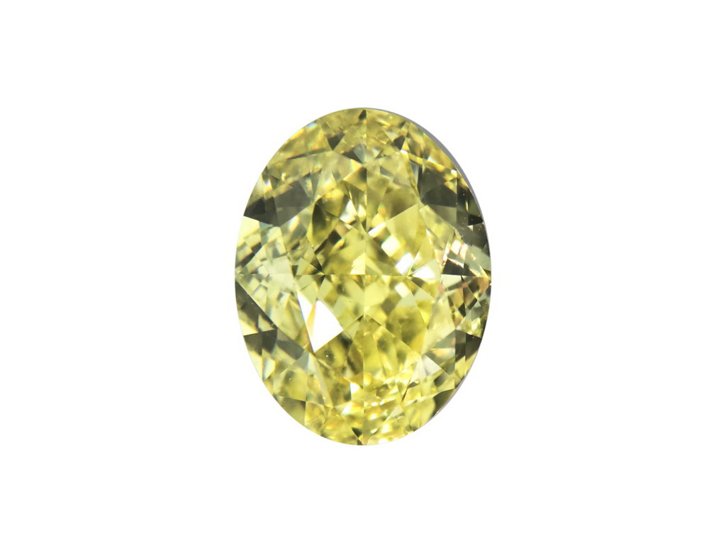 1.51ct黃色彩鑽石