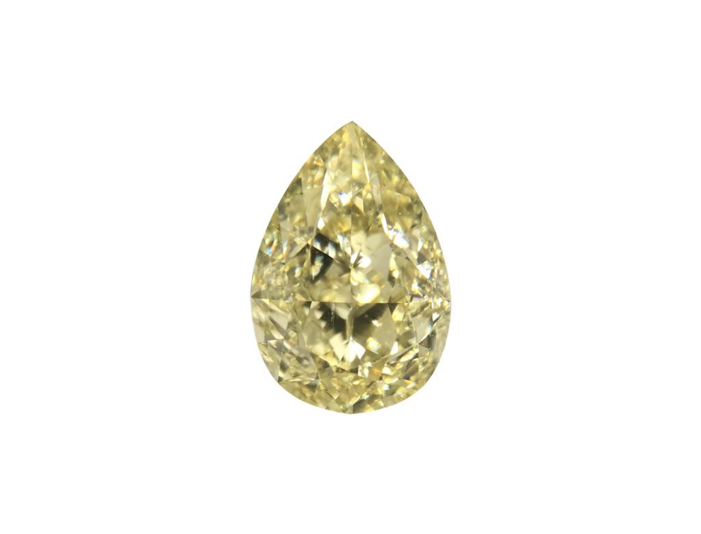 1.66ct黃色彩鑽石
