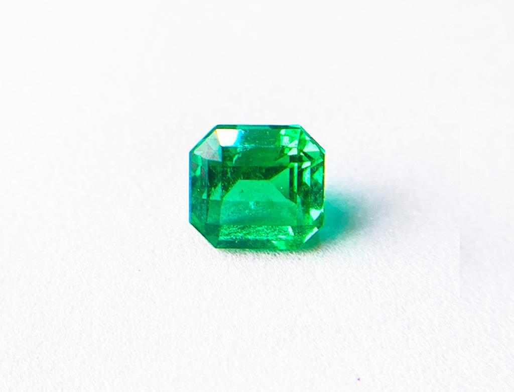 2.61卡天然綠寶石
