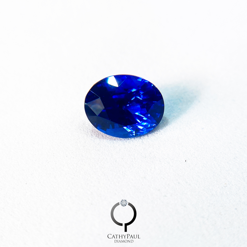 2.86卡天然藍寶石