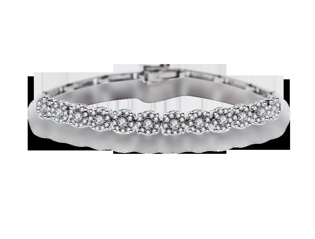 18K鑽石手鏈