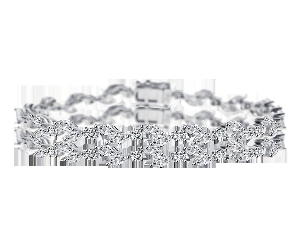 華麗鑽石手鏈