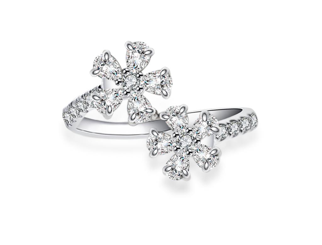 18K鑽石戒指