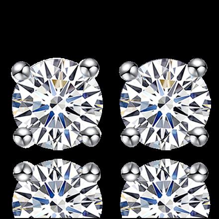 18K三戴鑽石耳環