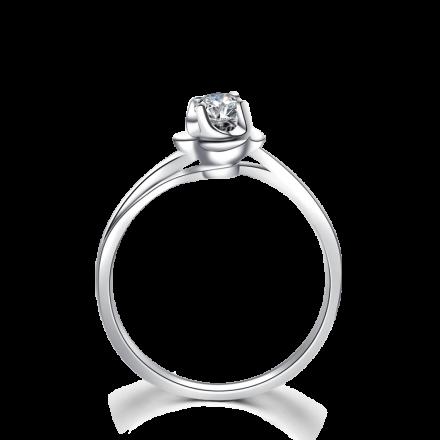 單粒鑽石戒指