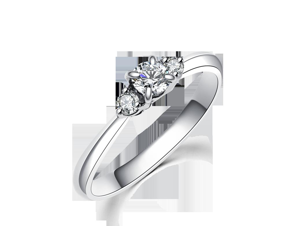 簡約鑽石戒指