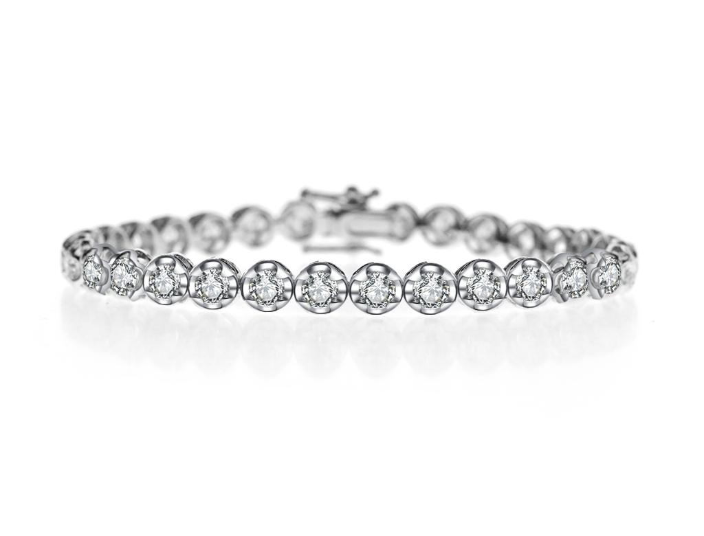 六卡鑽石手鏈