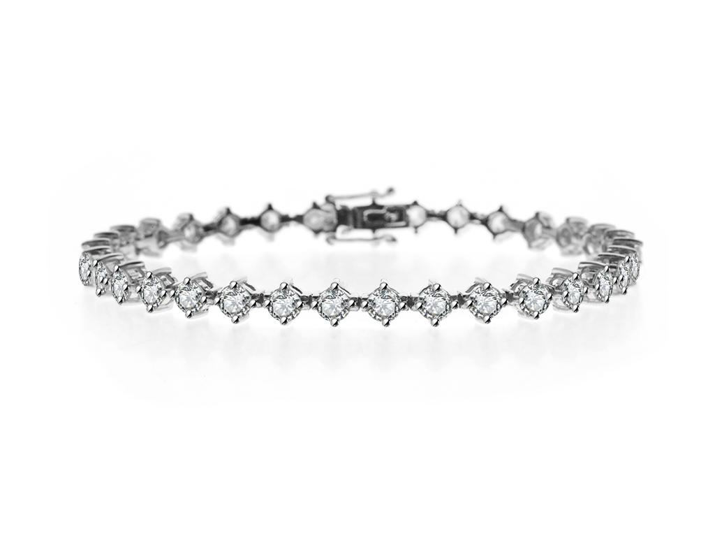 五卡鑽石手鏈