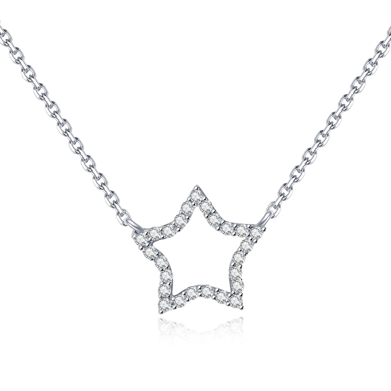 18K星形鑽石吊咀
