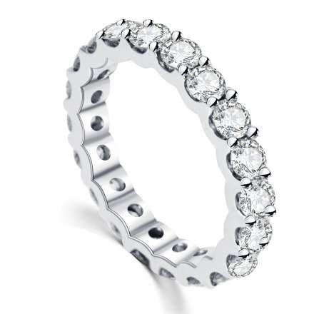 18K永恆鑽石戒指
