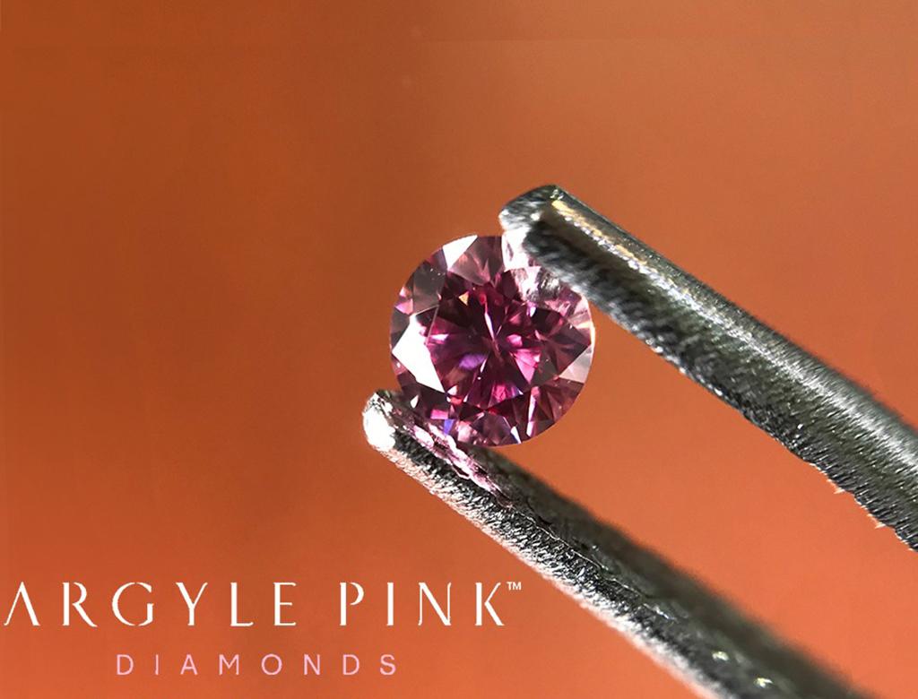 Argyle Pink 0.13ct