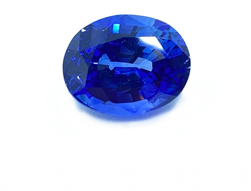 7.03卡天然藍寶石