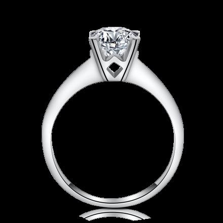 18K清鑲戒指托