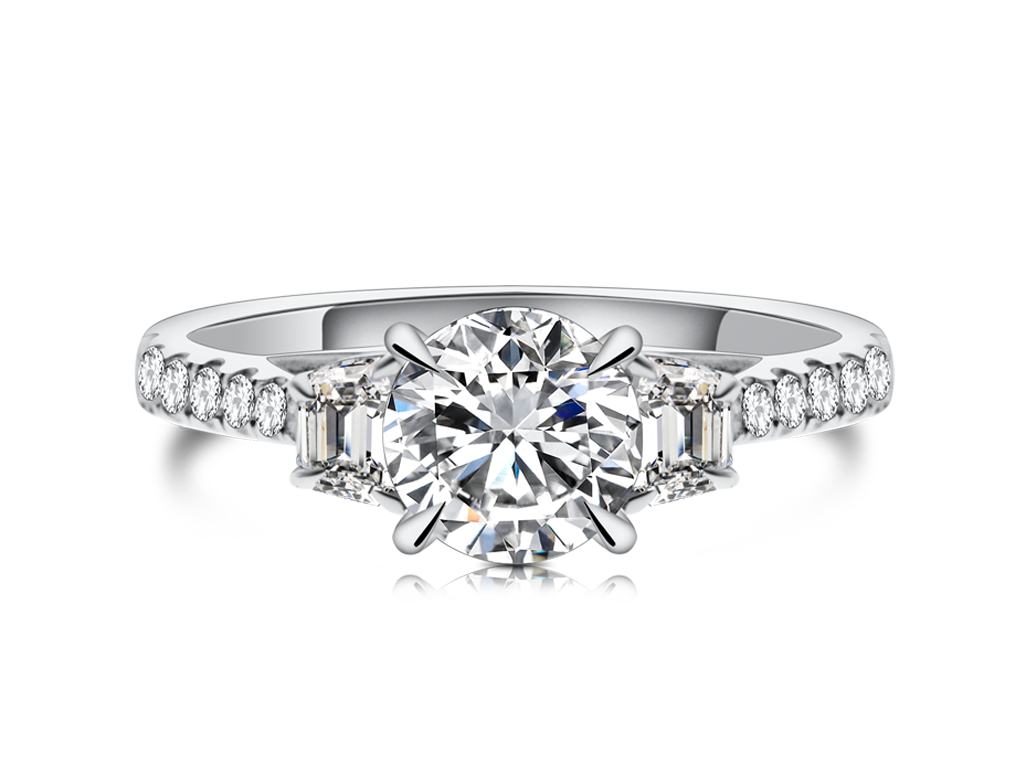 18K鑽石戒指托