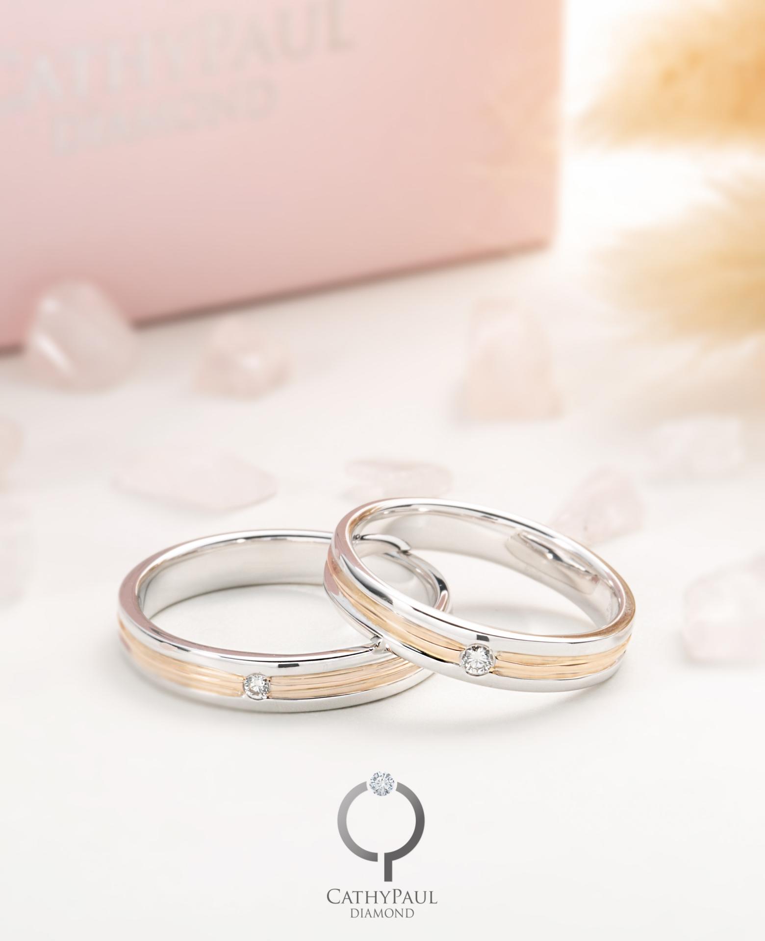 18K結婚對戒