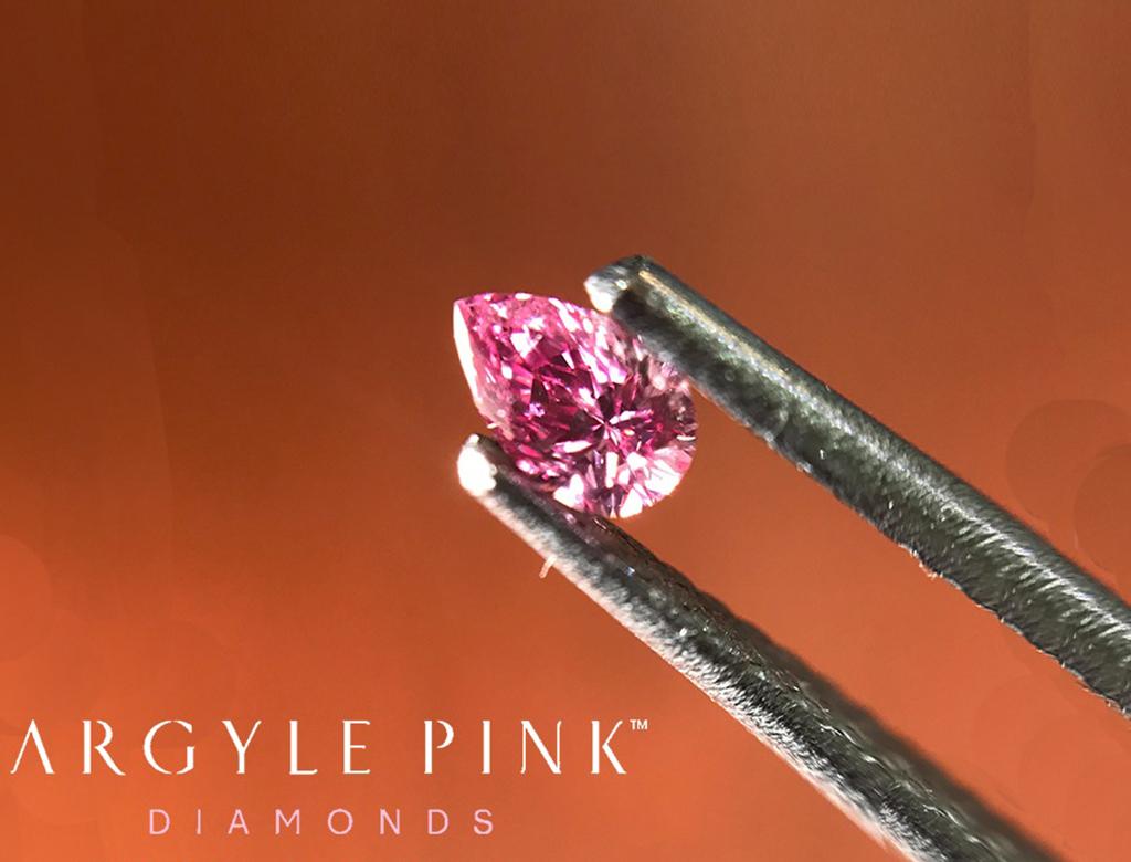 Argyle Pink 0.10ct