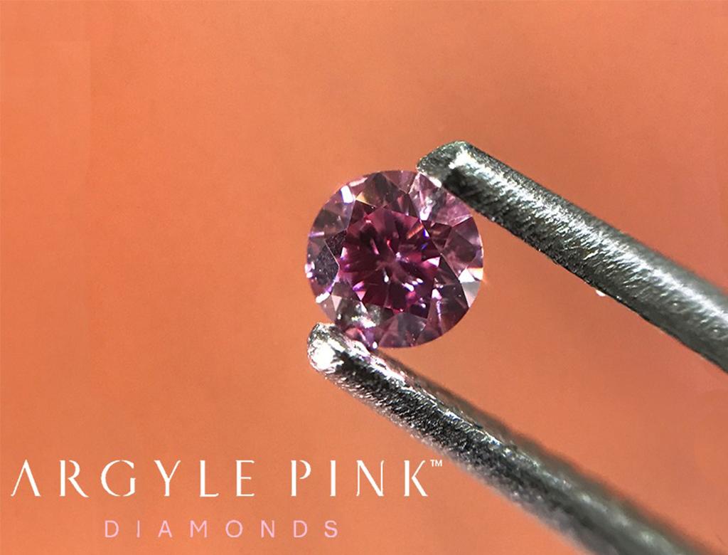 Argyle Pink 0.11ct