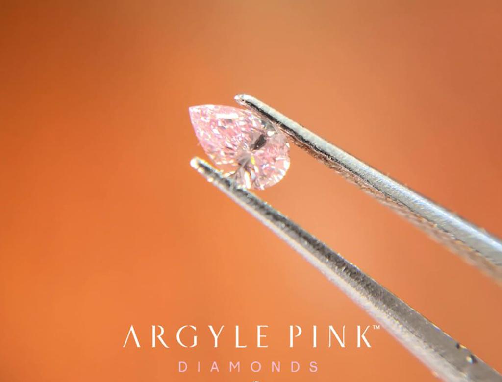 Argyle Pink 0.15ct