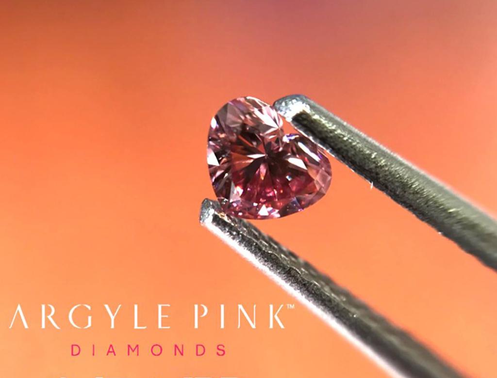 Argyle Pink 0.17ct