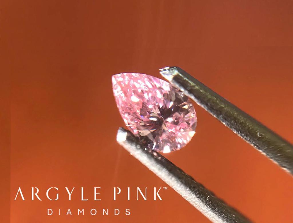 Argyle Pink 0.18ct
