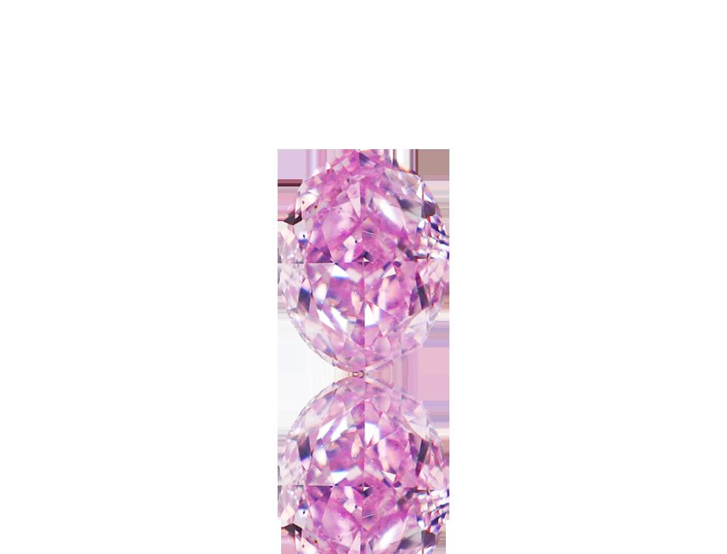 0.22ct粉紅彩鑽石