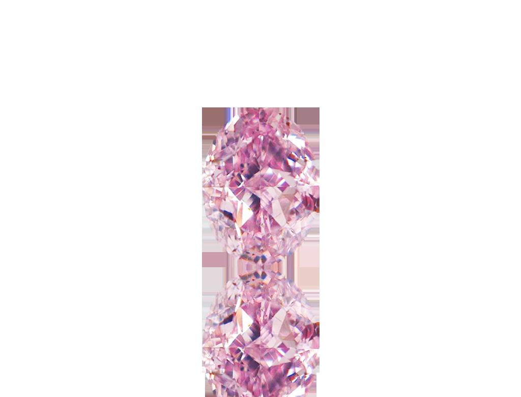 0.21ct粉紅彩鑽石