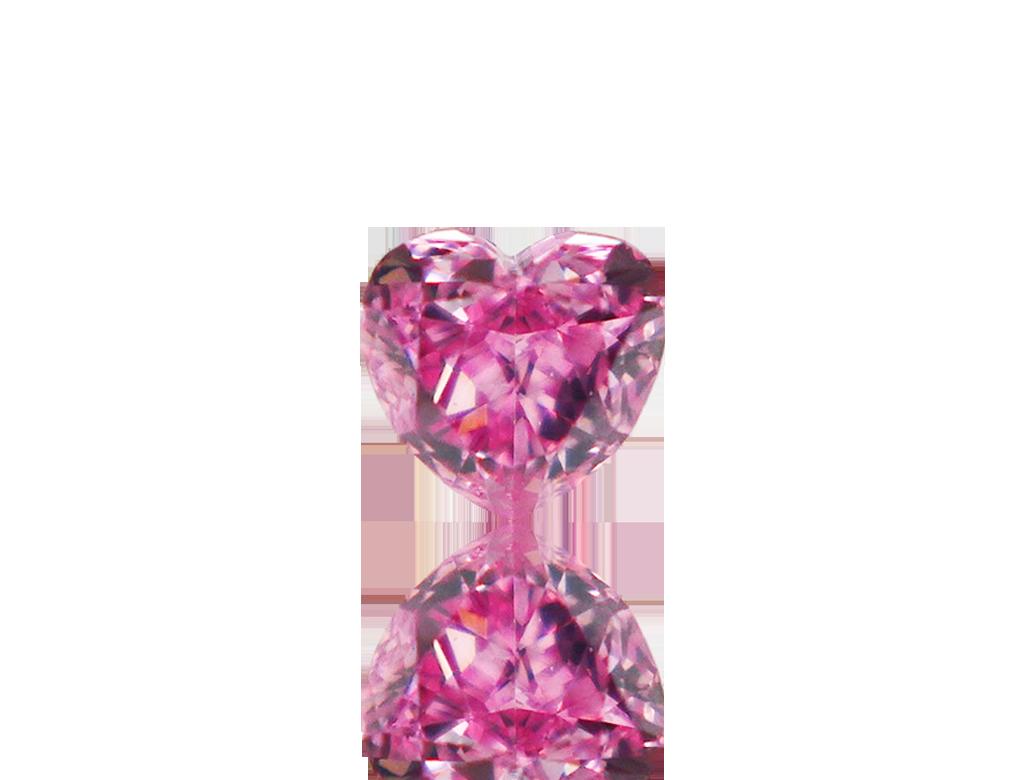 0.13ct粉紅彩鑽石