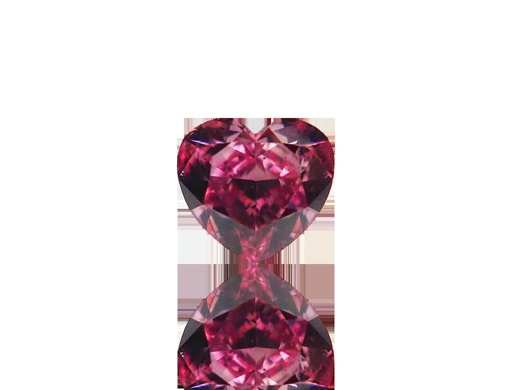 0.17ct粉紅彩鑽石