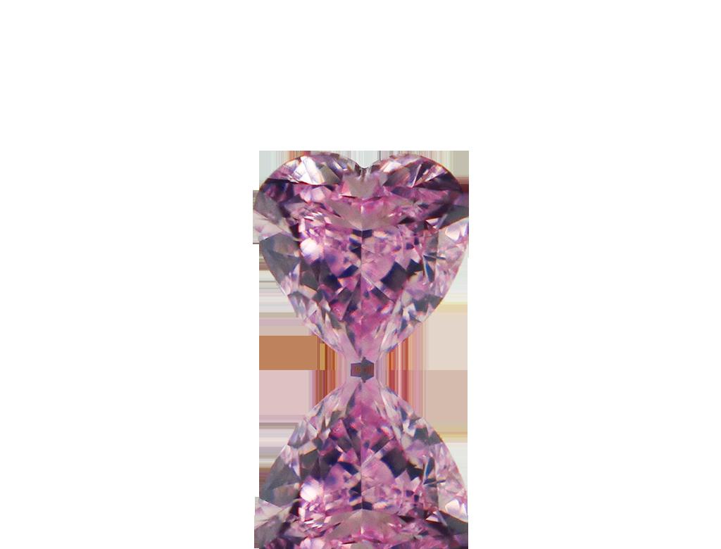 0.23ct粉紅彩鑽石