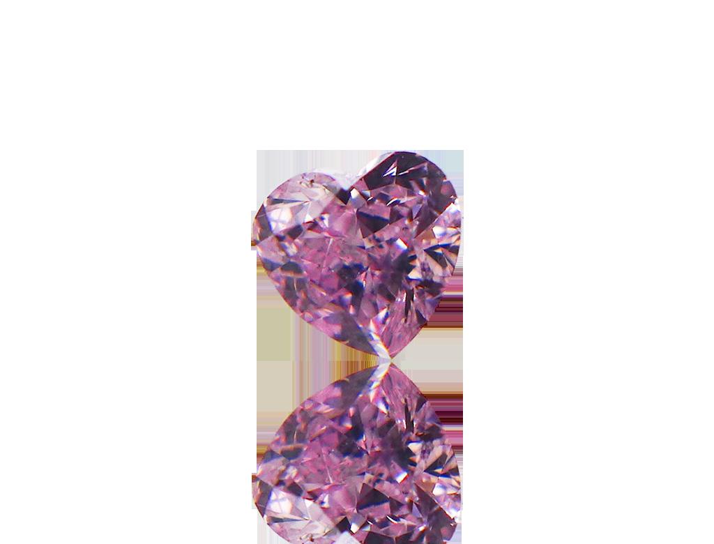 0.18ct粉紅彩鑽石