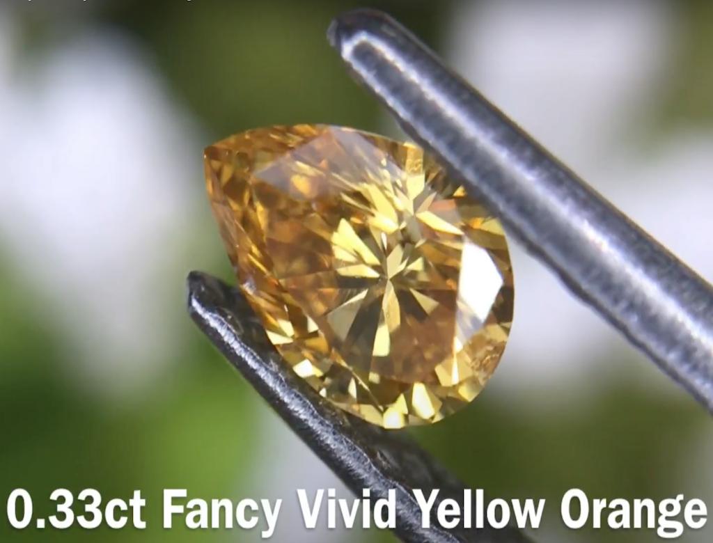 0.33黃色彩鑽石